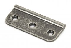"""From the Anvil 3"""" (75mm) Pewter Dummy Butt Hinge (single)   45436"""