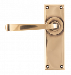 Set From the Anvil Polished Bronze Avon Lever Latch Furniture | 45788