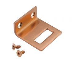 Copper Cubicle Angle Keep for 13mm board   T250CU