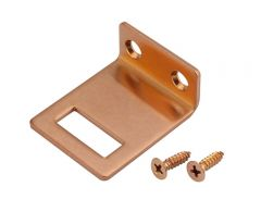 Copper Cubicle Angle Keep for 20mm board   T251CU
