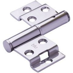 Tritus Polished Stainless Steel Left Hand Flush Lift Off Butt Hinge | FH70LH PSS