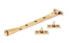 """From the Anvil (8"""""""") Polished Bronze Avon Casement Window Stay   45926"""