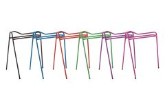 Coloured Equestrian Collapsible / Portable Saddle Stand