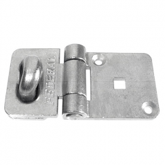 Federal FD702SS Solid Stainless Steel Hasp & Staple