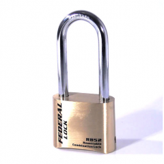 Federal FDRB52 50mm Combination Padlock with 50mm shackle