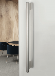 Lucia 450mm Stainless Steel Effect Sliding Door Pull Handle
