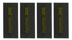 30 Minute Graphite Intumescent Square Hinge Pads to suit Zoo Hinges