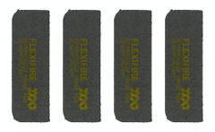 30 Minute Graphite Intumescent Radiused Hinge Pads to suit Zoo Hinges