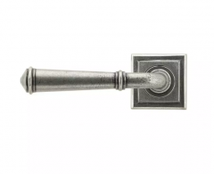 Set From the Anvil Pewter Regency Lever on Square rose | 45646