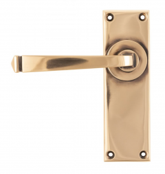 Set From the Anvil Polished Bronze Avon Lever Latch Furniture   45788