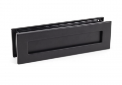 From the Anvil 315mm Matt Black Traditional Letterbox | 49593