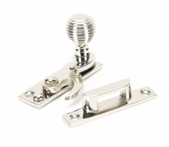 From the Anvil Polished Nickel Beehive Hook Fastener | 45937