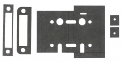 60 Minute Graphite Intumescent Fire Seals Kit to suit ZSC Sashlocks