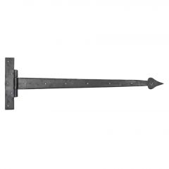 """Pair From the Anvil External Beeswax 36"""" (914mm) Barn Door T Hinge 