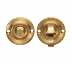 Delamain Satin Brass small Turn and Release | DK13SB