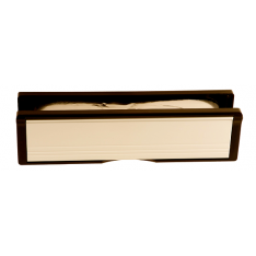 300x70mm Gold Anodised Intumescent Letter Box Assembly