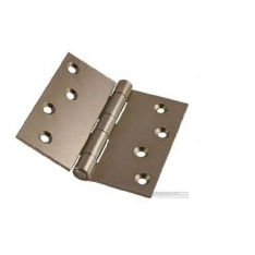 Pairs 90mm Zinc Plated Steel Strong Butt Hinges