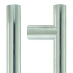 1200mm Satin Stainless Steel 30mm Bolt Through Guardsman Pull Handle   ZCS2G1200ES
