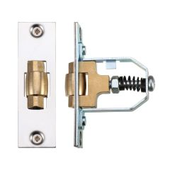 Polished Stainless Steel Adjustable Roller Latch