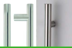 How to install a door pull handle