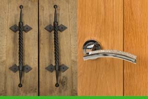 Types of door handles