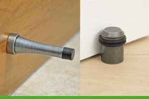 Best location to install a floor door stop