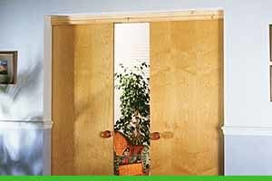 How to install a sliding door