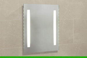 How to install the Apollo integrated lighting mirror